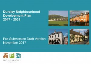 Future Dursley Neighbourhood Development plan Statutory Regulation 14 Consultation