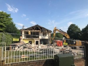 Reliance House: Demolition Ongoing
