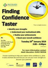 Finding Confidence Workshop