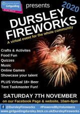 Welcome to the Virtual Dursley Fireworks 2020