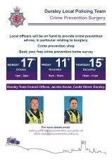 Dursley Local Policing Team: Crime Prevention Surgery