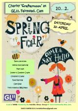 Spring Fair - Charity Crafternoon
