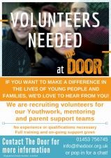 The Door Youth Project : Volunteering Opportunity