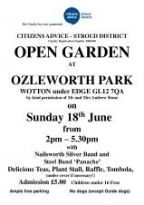Open Garden at Ozleworth Park