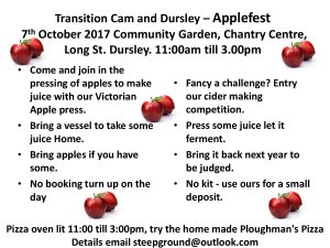 Transition Cam and Dursley – Applefest